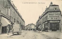 SAINTE MENEHOULD - Rue De Chanzy, établissements Goulet-Turpin Succursale N°36. - Sainte-Menehould