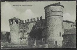 CASTELLO DI STATTO (PIACENZA) - FORMATO PICCOLO - EDIZ. C.D.L.  PIACENZA - VIAGGIATA DA GRAZZANO VISCONTI 19.08.27 - Castelli