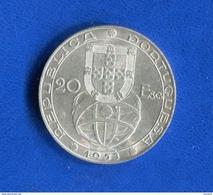 Portugal  20  Escudos  1953  Arg - Portugal