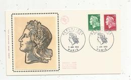 Premier Jour D'émission ,FDC , REPUBLIQUE , PARIS , 11-1-1969 - FDC