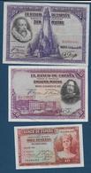 ESPAGNE - 5 Billets - [ 1] …-1931 : Premiers Billets (Banco De España)