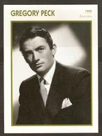 PORTRAIT DE STAR 1945 ETATS UNIS USA - ACTEUR GREGORY PECK - ACTOR CINEMA - Fotos