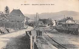 71.n°56266.trivy.chandon.quartier De La Gare - France