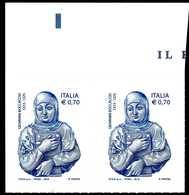 ITALIA / ITALY 2013** - Giovanni Boccaccio - Scrittore E Poeta Italiano - Coppia MNH Come Da Scansione. - Scrittori