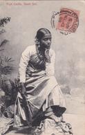 CPA - Ceylon (Ceylan) - High Castle - Tamil Girl - 1908 - Sri Lanka (Ceylon)