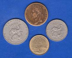 Colonie  Guyanne 5 Cents  1828 A  +  3  Pieces  Djibouti - Colonias