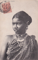 CPA - Ceylon (Ceylan) - A Tamil Girl - 1908 - Sri Lanka (Ceylon)