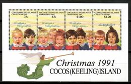 Cocos (Keeling) 1991 / Christmas MNH Nöel Navidad Weihnachten / Cu12321  34 - Navidad