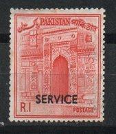 Ref: 1388. Pakistán. Sello De Servicio. - Pakistán