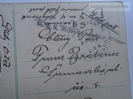 D163626 Croatia GRUZ GRAVOSA - Austria K.u.K.  Kriegsmarine SMS Helgoland  1916  To Plzen Czechia - Kroatien