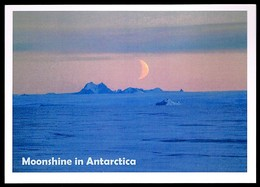 Antarctica • Ross Dependency • 2019 • Airmail Postcard To Germany • Moonshine In Antarctica - Dipendenza Di Ross (Nuova Zelanda)