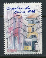 France - Capitales Européennes - Lisbonne / Bairro Alto YT 4404 Obl.ondulations - France