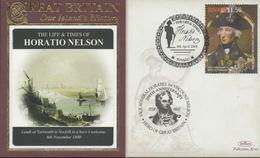 3400   Carta Tuvalu , Horatio Nelson  Batalla De Trafalgar,,2008 - Tuvalu