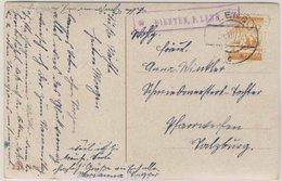 Österreich - Postablage Dienten P. Lend Karte Salzburg 1928 - Austria