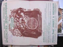 Grand BUVARD - META TANIN - MOINES BUVANT SUR UN TONNEAU - Ets IMBERT & MICHAUX - MONTREUIL S/ BOIS - Food