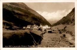 Vent Gegen Die Stubaier Alpen, Ötztal, Tirol (11878) * 19. 7. 1930 - Sölden