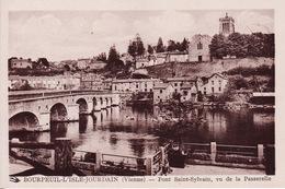 CPA 86 - BOURPEUIL - L'ISLE JOURDAIN - Pont Saint Sylvain Vu De La Passerelle - L'Isle Jourdain