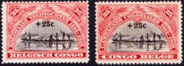 Congo 0132/33* -H- - 1923-44: Neufs