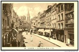 (14)  - LISIEUX     - LA  GRANDE RUE       Bb-476 - Lisieux