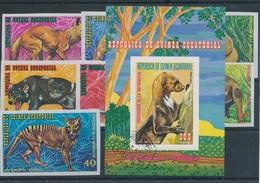1974. Equatorial Guinea - Animals - Stamps