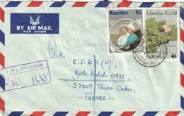 MAURITIUS - Ile Maurice - Lettre Avec Timbres - - Mauritius (1968-...)