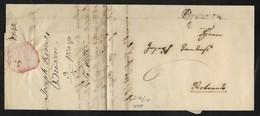 DA BRESSANONE A ROVERETO - 3.5.1842. - Italia