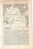 LAMINA ESPASA 25943: Rutas Del Oceano Pacifico Antes De La Gran Guerra - Altre Collezioni