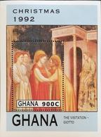 Ghana 1992 Christmas S/S - Ghana (1957-...)
