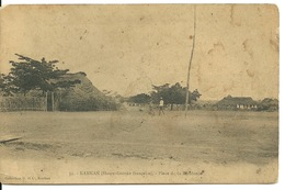 KANKAN - HAUTE GUINEE FRANCAISE / PLACE DE LA RESIDENCE - Equatorial Guinea
