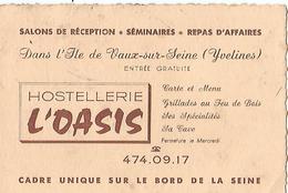 """VAUX Sur SEINE Hostellerie """"L OASIS"""" - France"""