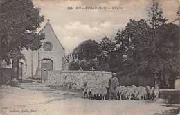 76. N°56325.cailleville.l'église - France