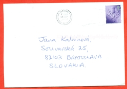 Great Britain 2001. The Envelope Passed The Mail. - 1952-.... (Elizabeth II)