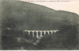 Monsols Rhone- Le Viaduc- Chemin De Fer De Monsols à La Clayette Au Pied Du MtSt-Rigaud -Recto Verso- Paypal Sans Frais - Francia
