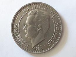 100 Francs Rainier III Prince De  Monaco 1950 - Monaco