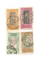 49,63,76,   Beaux Cachets  (clascamer4) - Dahome (1899-1944)