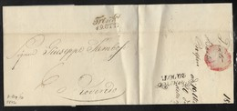 DA TRENTO A ROVERETO - 19.10.1842. - Italy