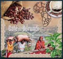 [32253]SUP//**/Mnh-c:17e-BURUNDI 2012 - Le Café Du Burundi - Agriculture