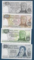 ARGENTINE - 4 Billets - Argentine