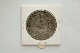 5 Francs 1852 A Louis Napoléon Bonaparte - Argent - France
