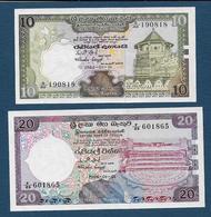 SRI LANKA - 2 Billets - Sri Lanka