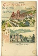 CAUX SUR MONTREUX / PALACE HOTEL ET GRAND HOTEL - VD Vaud