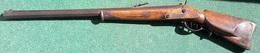 Vorderlader AMBERG 1844,22mm Kugel,10Kg,gebraucht,Original, Selten,WERT ? - Armes Neutralisées