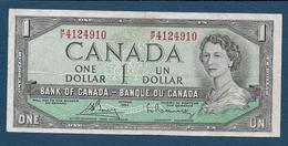 CANADA - 1 Dollar  1954 - Canada