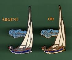 VOILIER TOFINOU *** Lot De 2 Pin's Differents *** 1006 - Sailing, Yachting