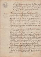 1811 - SERAING - LIEGE - Sous Napoléon Empereur Des Français, Roi D'Italie...... - 4 Pages Manuscrites - Documents Historiques