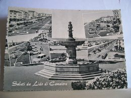 1960 - Lucca - Saluti Da Lido Di Camaiore - Vedute - Viale Pistelli - Fontana - Lungomare - Giardini  Auto  Animata - Souvenir De...