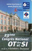 TICKET Téléphone  = Congres National OT SI - France