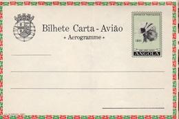 "Portugal 1964 Angola Aerogramme, Air Letter H&G FG31 MINT ""Industrial School"" VII - Angola"