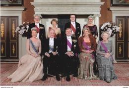 Queen Mathilde Maxima  Netherlands Belgium Statevisit ( Rood 1107 - Familles Royales