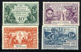 Wallis Y Futuna Nº 66/69 Con Charnela - Wallis Y Futuna